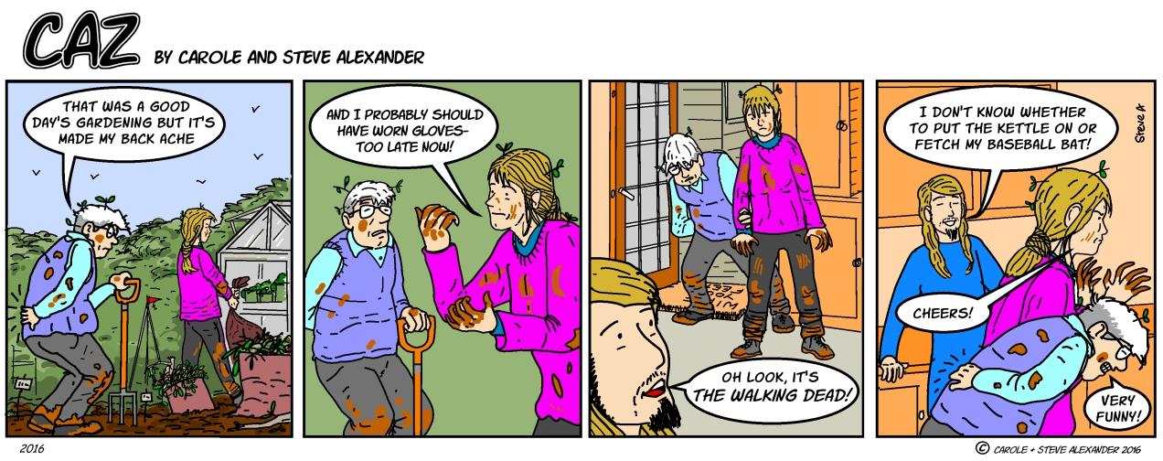 gardening dead